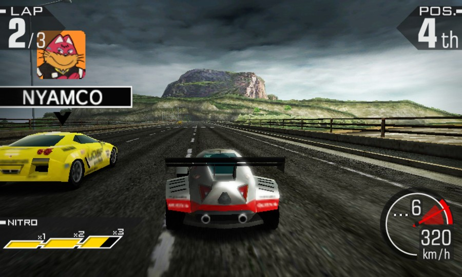 Ridge Racer 3D Screenshot