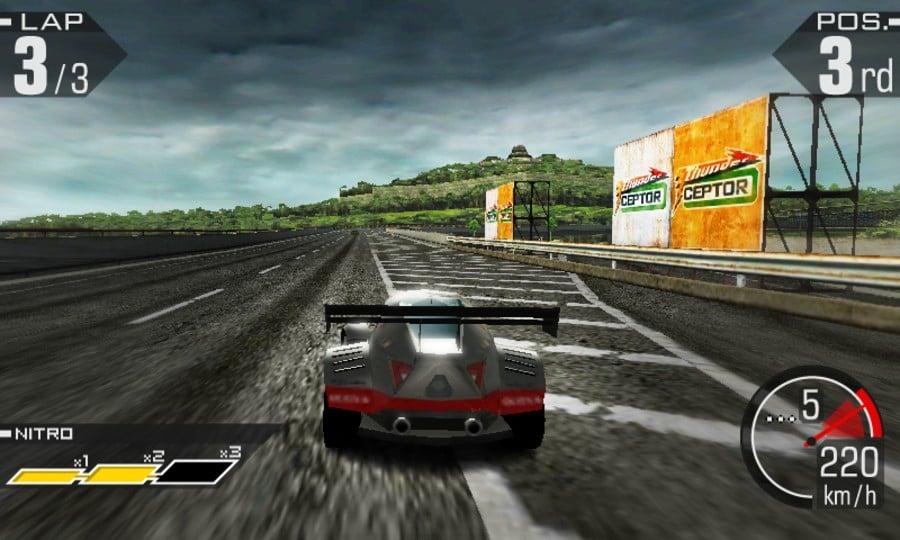 Ridge Racer 3D Screenshot