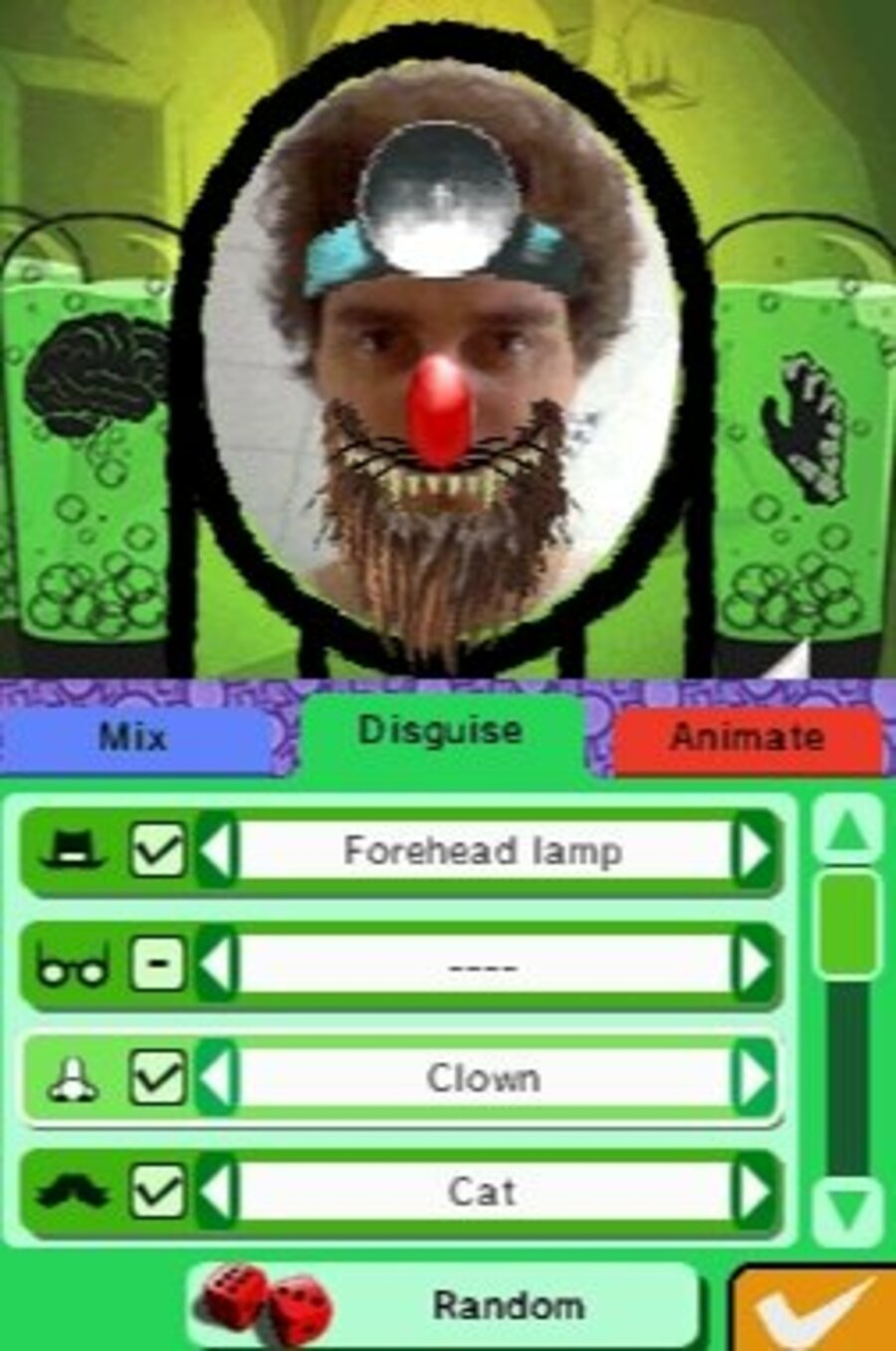 Faceez: Monsters! Screenshot