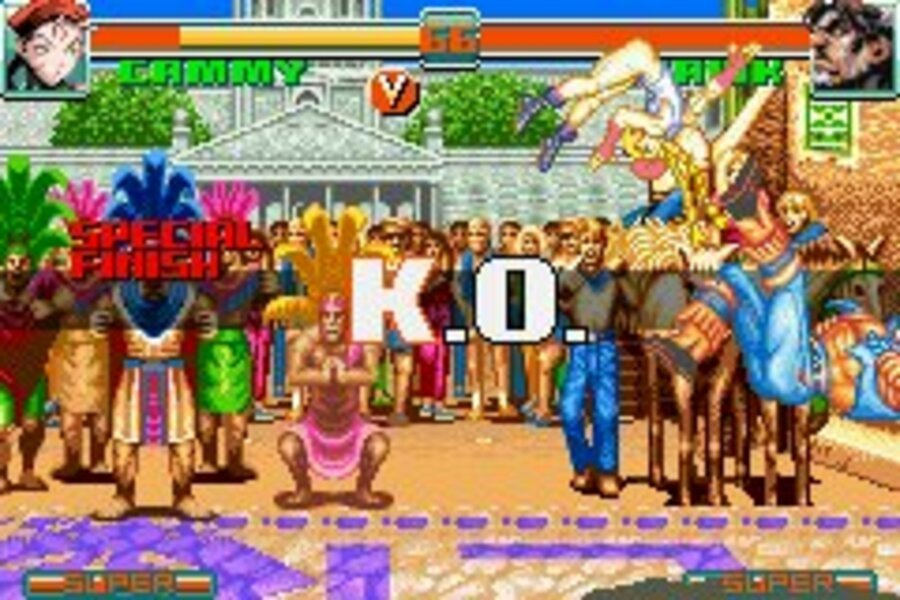 Super Street Fighter II: Turbo Revival Screenshot