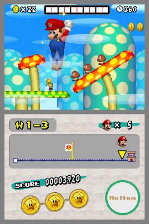 New Super Mario Bros. Review - Screenshot 2 of 3