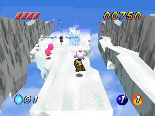 Bomberman Hero Screenshot