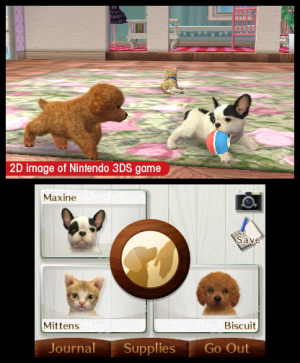 Nintendogs + Cats Review - Screenshot 1 of 6