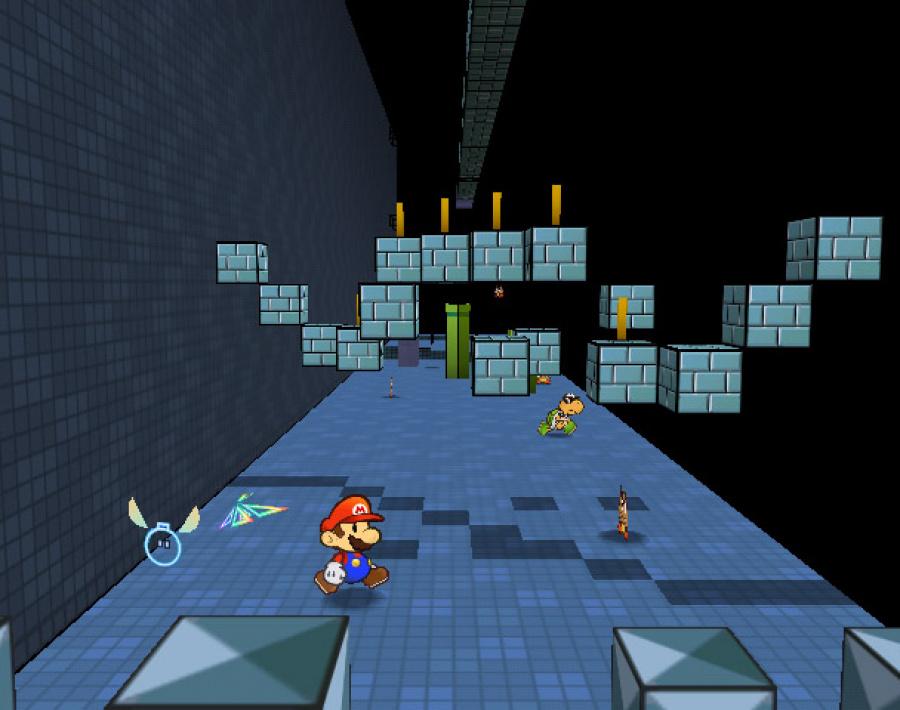 Super Paper Mario Review - Screenshot 2 of 6