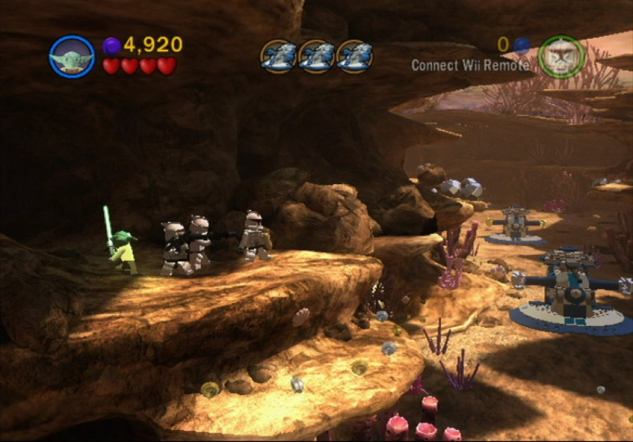 LEGO Star Wars III: The Clone Wars Review - Screenshot 1 of 5