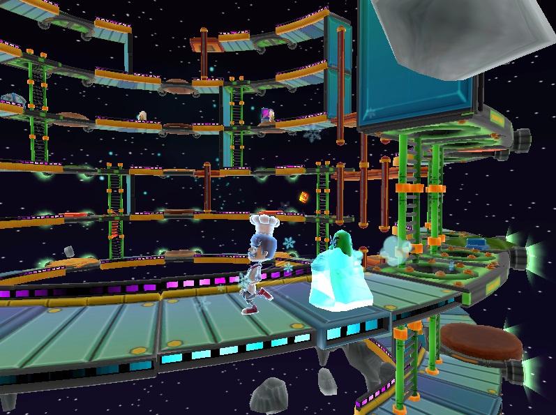 BurgerTime World Tour Screenshot