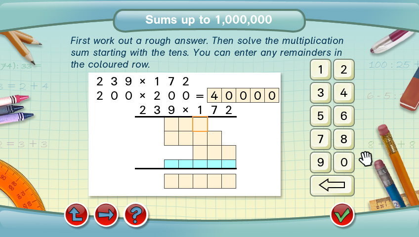 Successfully Learning Mathematics: Year 5 Screenshot