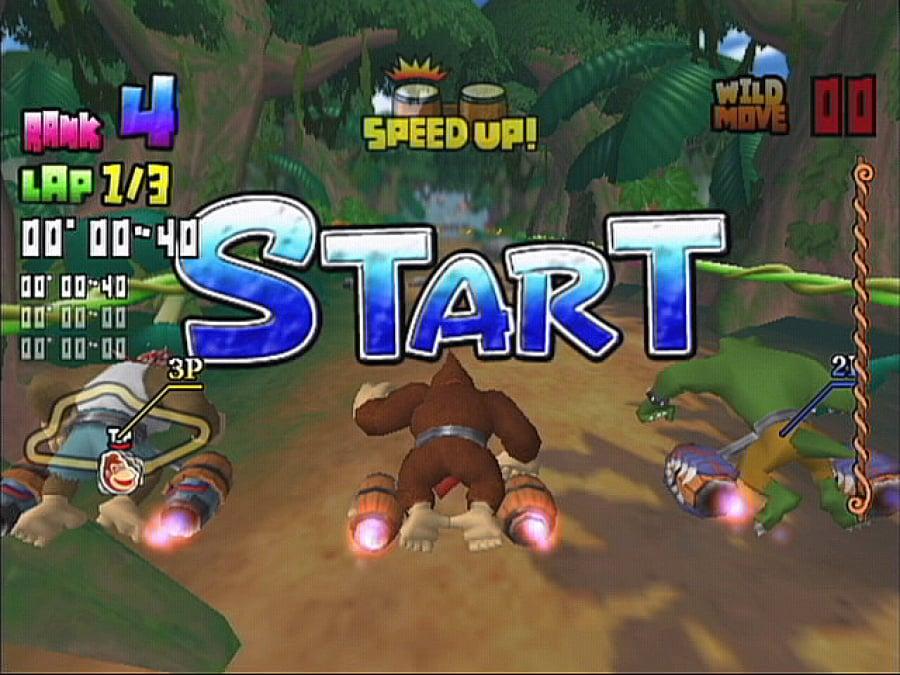 Donkey Kong Barrel Blast Review - Screenshot 2 of 4