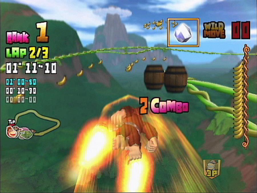 Donkey Kong Barrel Blast Review - Screenshot 1 of 4