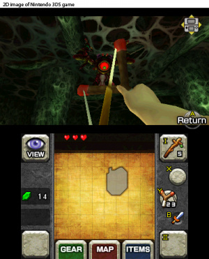 The Legend of Zelda: Ocarina of Time 3D Review - Screenshot 4 of 4