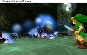 The Legend of Zelda: Ocarina of Time 3D Review - Screenshot 3 of 4