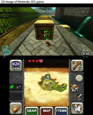 The Legend of Zelda: Ocarina of Time 3D Review - Screenshot 1 of 3