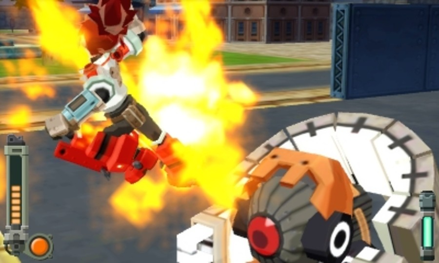 Mega Man Legends 3: Prototype Version Screenshot