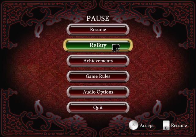 V.I.P. Casino: Blackjack Screenshot