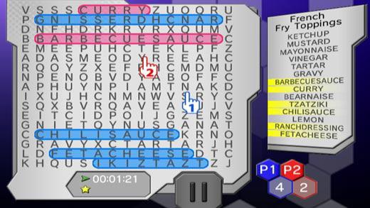 Word Searcher Deluxe Screenshot