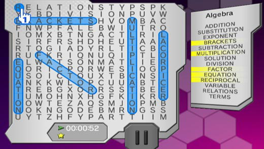 Word Searcher Deluxe Screenshot