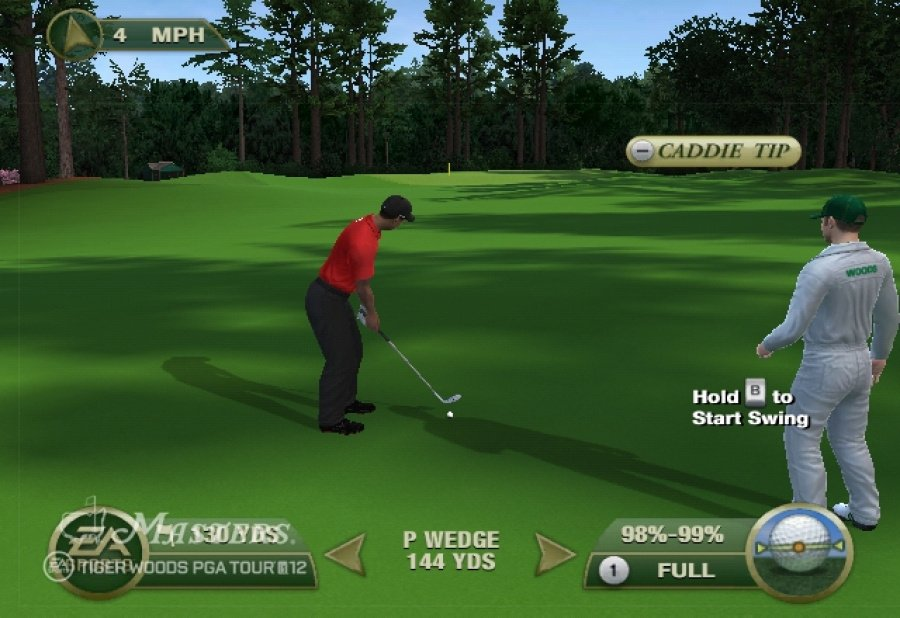 Tiger Woods PGA Tour 12: The Masters Review - Screenshot 2 of 5