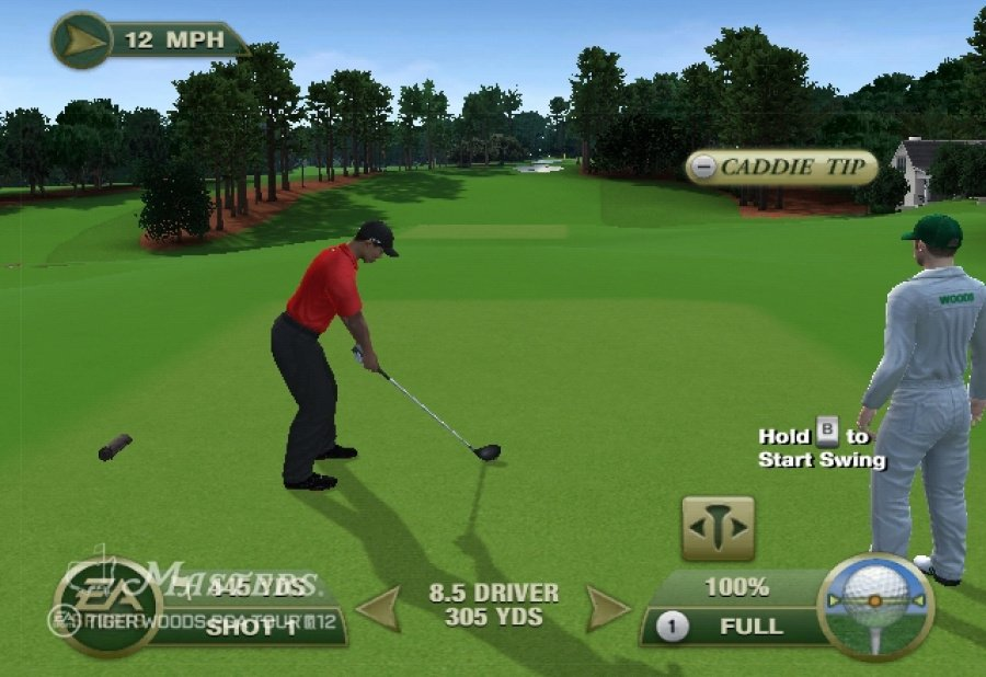 Tiger Woods PGA Tour 12: The Masters Review - Screenshot 3 of 5