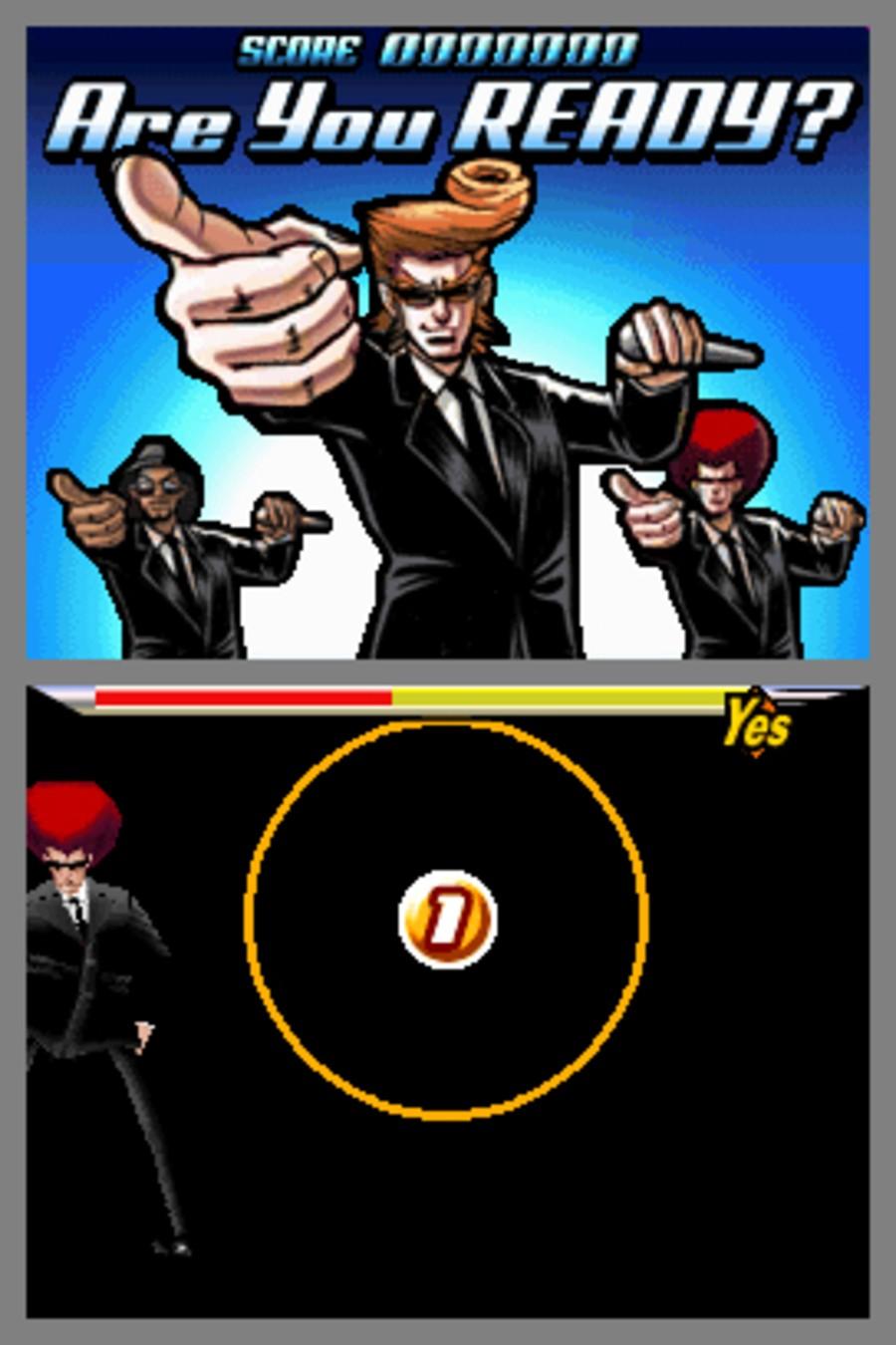Elite Beat Agents Screenshot