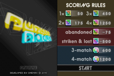 Puzzle Rocks Screenshot