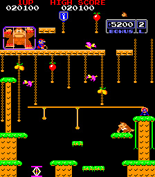 Donkey Kong Jr. Screenshot