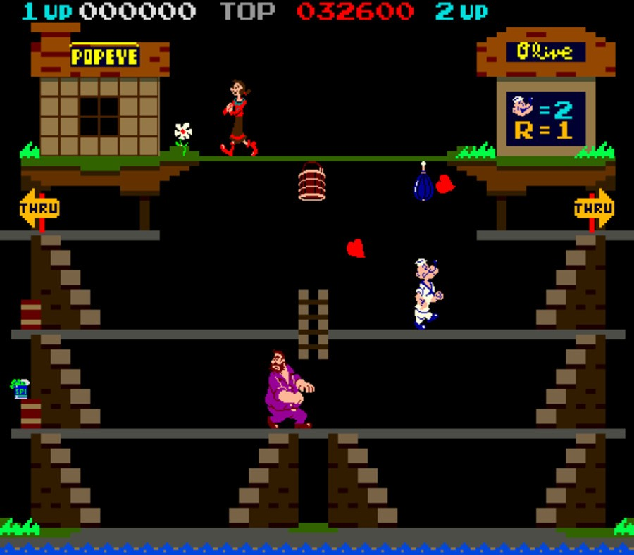 Popeye Screenshot