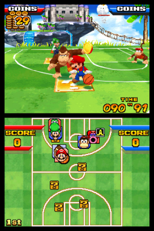 Mario Hoops 3 on 3 Review - Screenshot 3 of 3