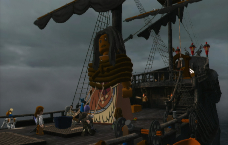 LEGO Pirates of the Caribbean Review - Screenshot 3 of 5