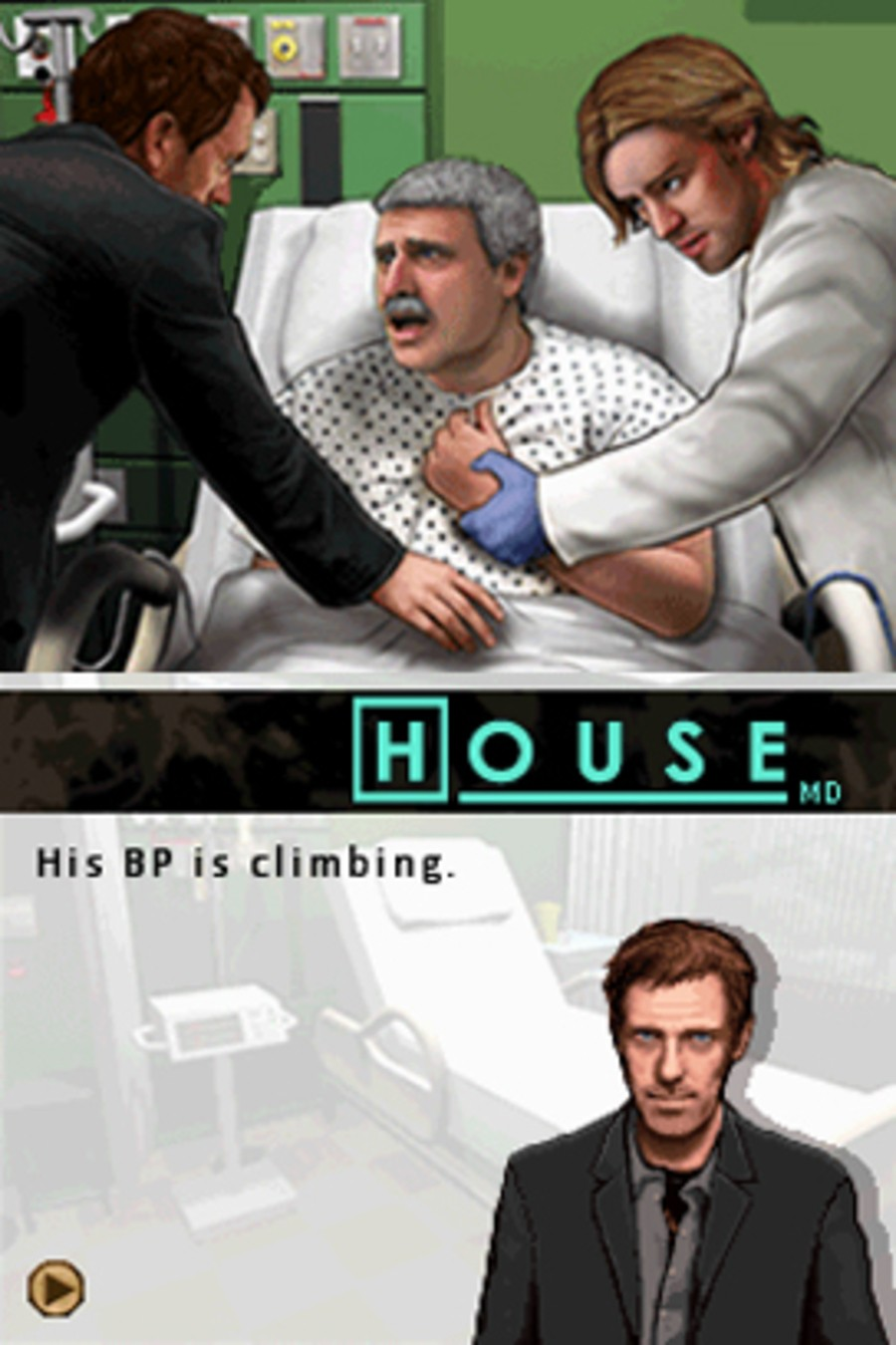 House, M.D. - Episode 1: Globetrotting Screenshot