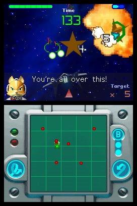 Star Fox Command Screenshot