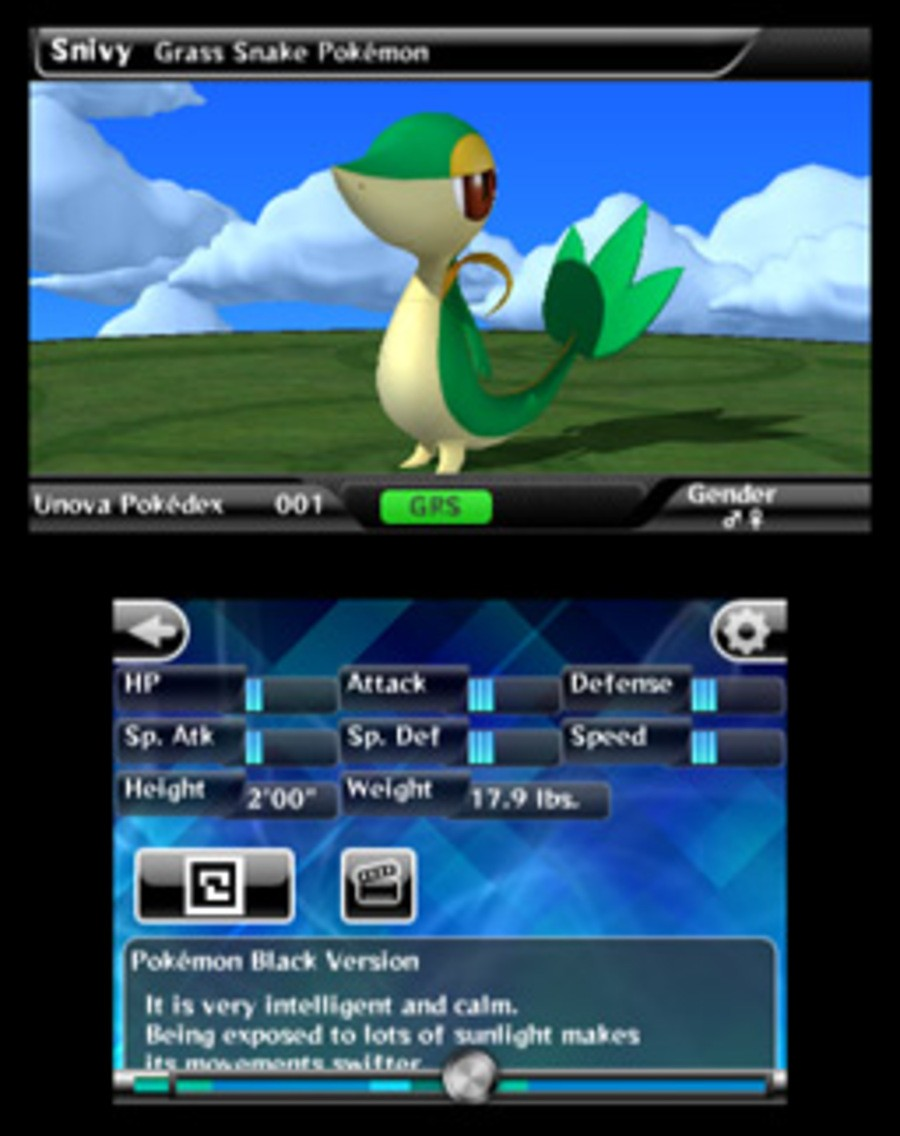 Pokédex 3D Screenshot