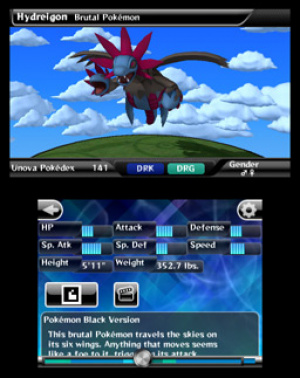 Pokédex 3D Review - Screenshot 1 of 3