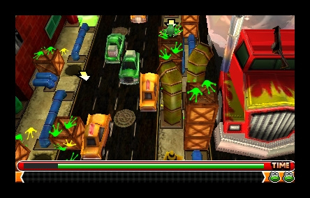 Frogger 3D Screenshot