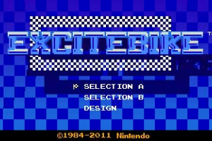 3D Classics: Excitebike Screenshot