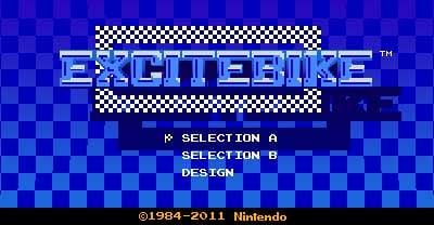 3D Classics: Excitebike Screenshot