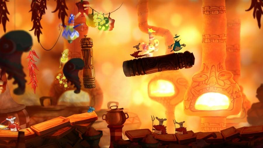 Rayman Origins Review - Screenshot 1 of 5