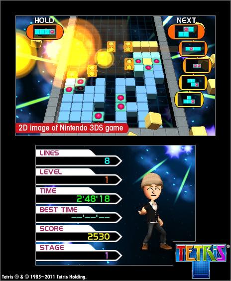 Tetris Axis Screenshot