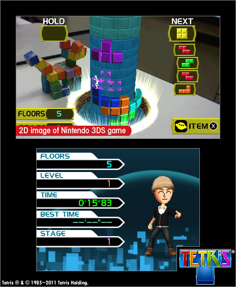 Tetris Axis Screenshot
