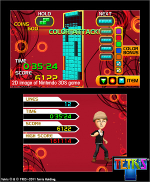 Tetris Axis Review - Screenshot 3 of 4
