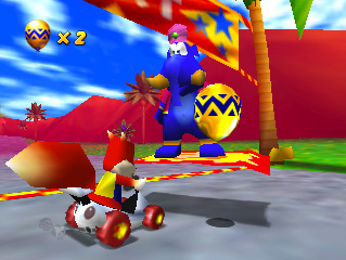 Diddy Kong Racing Screenshot