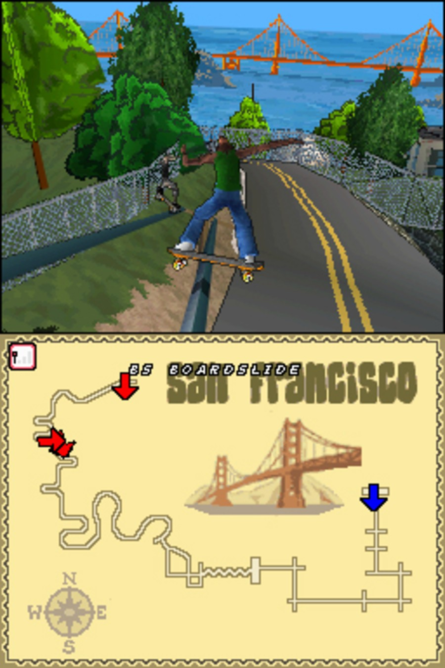 Tony Hawk's Downhill Jam Screenshot