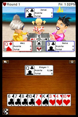 Hearts Spades Euchre Screenshot