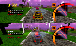 3D Pixel Racing Review - Screenshot 2 of 3