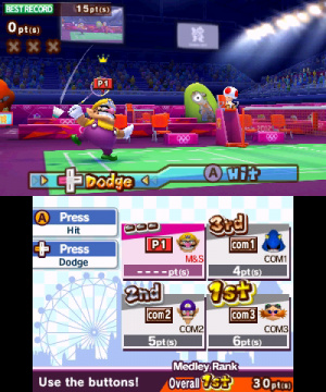 Mario & Sonic at the London 2012 Olympic Games Review - Screenshot 3 of 4