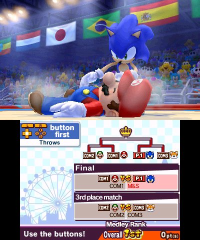 Mario & Sonic at the London 2012 Olympic Games Screenshot
