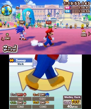Mario & Sonic at the London 2012 Olympic Games Review - Screenshot 2 of 4