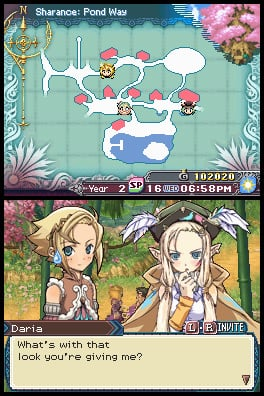 Rune Factory 3: A Fantasy Harvest Moon Screenshot