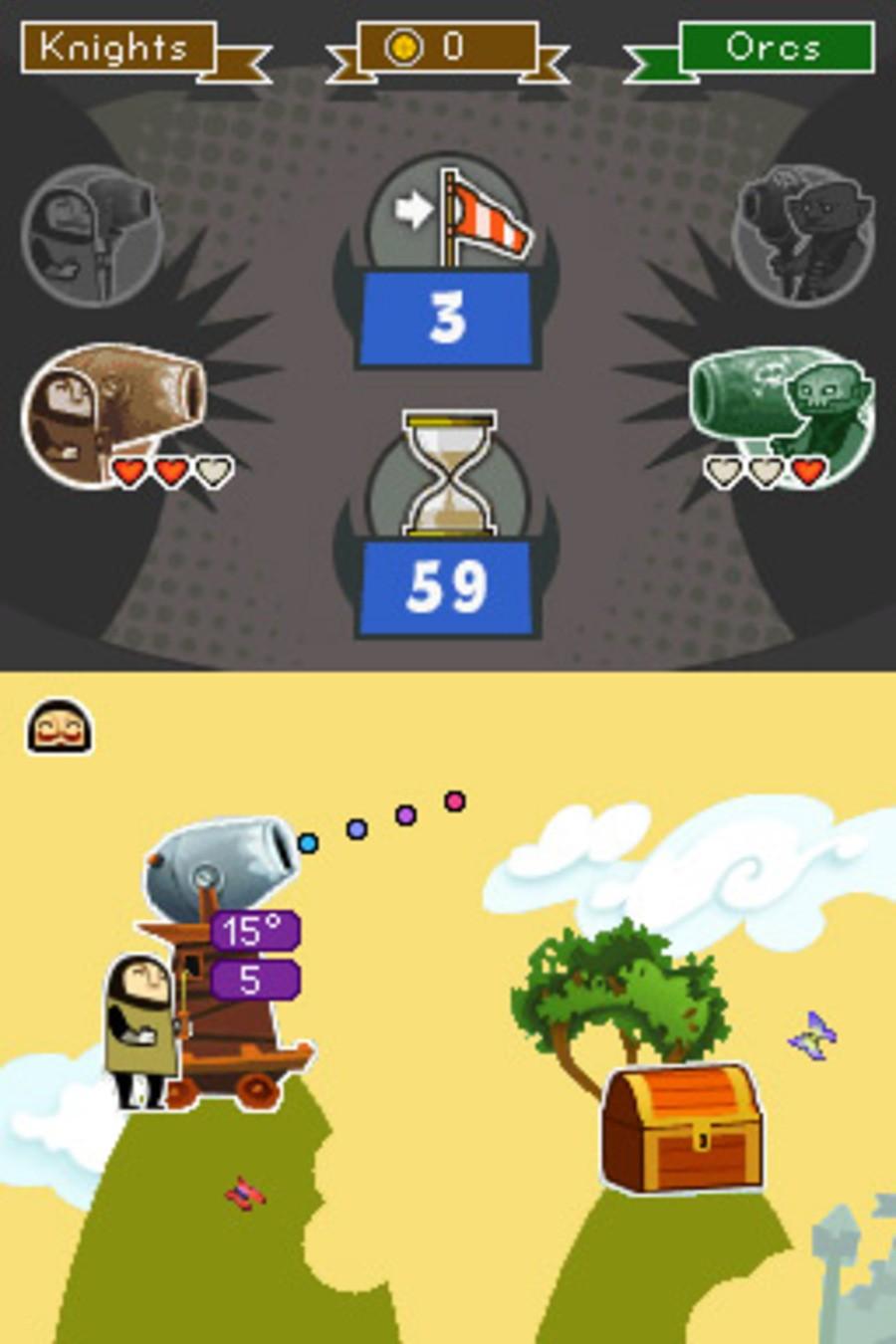 Artillery: Knights vs. Orcs Screenshot