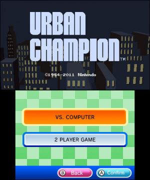 3D Classics: Urban Champion Review - Screenshot 1 of 5
