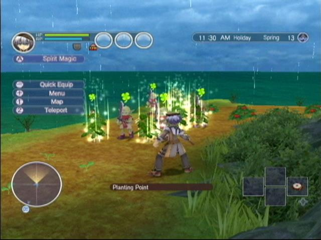 Rune Factory: Tides of Destiny Screenshot